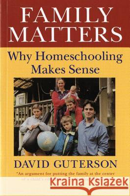 Family Matters David Guterson 9780156300001