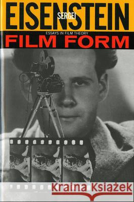 film form essays in film theory and the film sense Film form : essays in film theory  [and], the film sense by eisenstein, sergei,  1898-1948 leyda, jay, 1910-1988 eisenstein, sergei,.