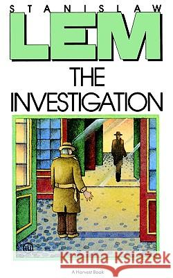 The Investigation Stanislaw Lem Adele Mich 9780156451581