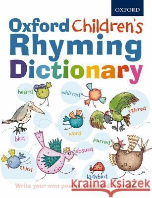 Oxford Children's Rhyming Dictionary   9780192735584