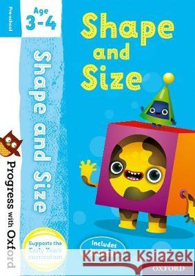 Progress with Oxford: Shape and Size Age 3-4 Sarah Snashall   9780192765512