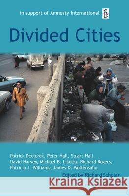 Divided Cities: The Oxford Amnesty Lectures 2003 Richard Scholar 9780192807083