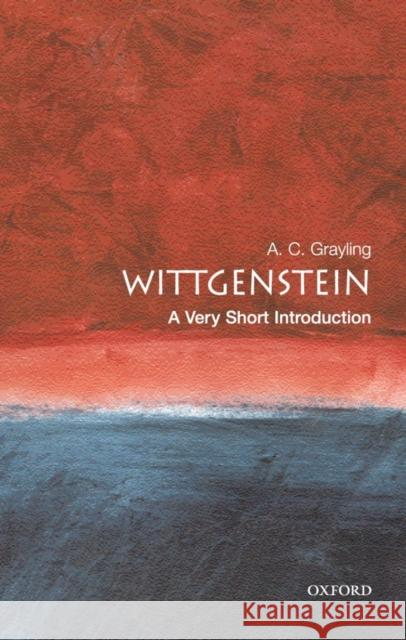 Wittgenstein: A Very Short Introduction A C Grayling 9780192854117 0
