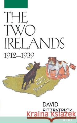 The Two Irelands, 1912-1939 David Fitzpatrick 9780192892409