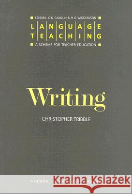 Writing Christopher Tribble 9780194371414