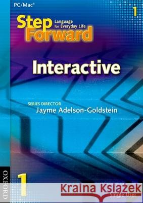 Step Forward 1 Interactive CD-ROM (Single User) Jayme Adelson-Goldstein 9780194398282 Oxford University Press, USA