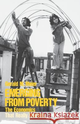 Emerging from Poverty Gerald M. Meier 9780195037142