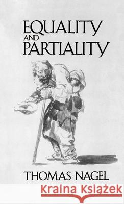 Equality and Partiality Thomas Nagel 9780195069679 Oxford University Press