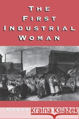 The First Industrial Woman Deborah Valenze 9780195089820