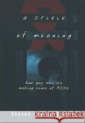 A Crisis of Meaning : How Gay Men Are Making Sense of AIDS Steven S. Schwartzberg 9780195096279