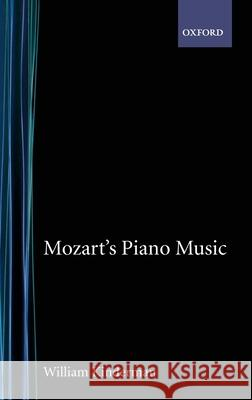 Mozart's Piano Music William Kinderman 9780195100679
