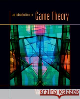 An Introduction to Game Theory Martin J. Osborne 9780195128956