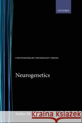 Neurogenetics Stefan-M Pulst 9780195129755