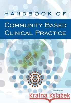 Handbook of Community-Based Clinical Practice Anita Lightburn Phebe Sessions 9780195159226