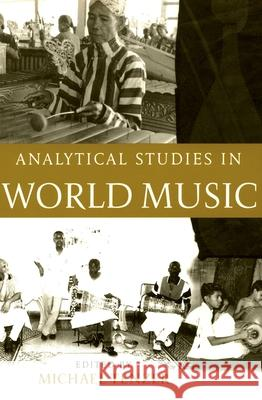 Analytical Studies in World Music Michael Tenzer 9780195177893