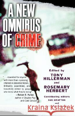 A New Omnibus of Crime Tony Hillerman Rosemary Herbert 9780195182149 Oxford University Press