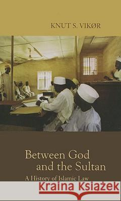 Between God and the Sultan: A History of Islamic Law Knut S. Vikr 9780195223989