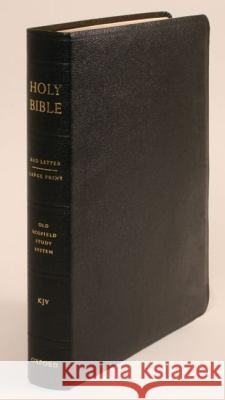 Old Scofield Study Bible: Large Print C. I. Scofield 9780195273021