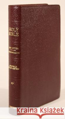 Old Scofield Study Bible-KJV-Classic: 1917 Notes  9780195274653