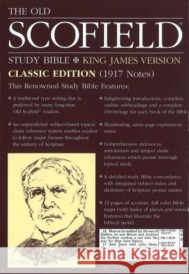 Old Scofield Study Bible-KJV-Classic Oxford University Press 9780195274745