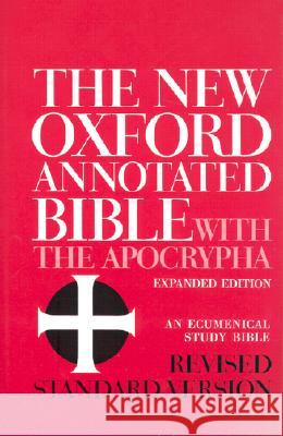 New Oxford Annotated Bible-RSV Bruce M. Metzger Herbert G. May 9780195283488