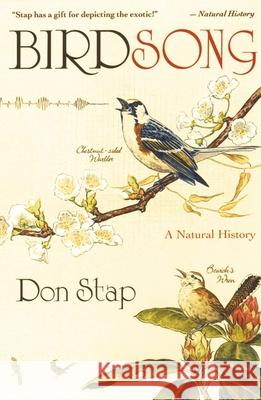 Birdsong : A Natural History Don Stap 9780195309010