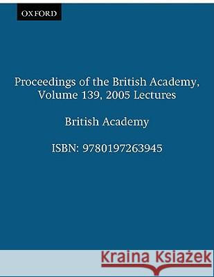 Lectures British Academy 9780197263945