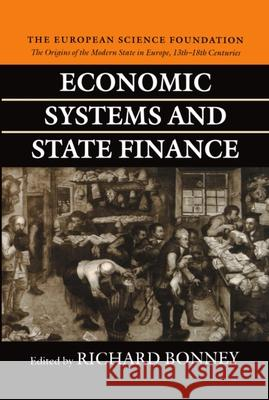 Economic Systems and State Finance Richard Bonney 9780198205456