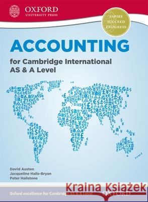 Accounting for Cambridge International as and a Level Student Book Peter Hailstone   9780198399711