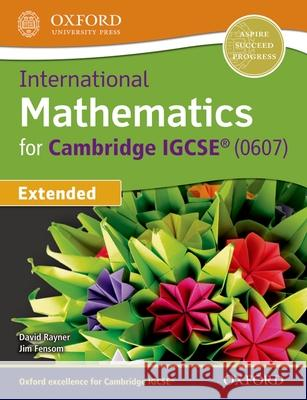International Maths for Cambridge Igcse Student Book Jim Fensom   9780198416906