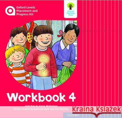 Oxford Levels Placement and Progress Kit: Workbook 4 Class Pack of 12 Karra McFarlane Alex Brychta Nick Schon 9780198445210