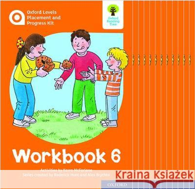 Oxford Levels Placement and Progress Kit: Workbook 6 Class Pack of 12 Karra McFarlane Alex Brychta Nick Schon 9780198445272