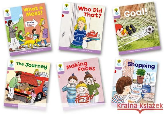 Oxford Reading Tree: Level 1+: More Patterned Stories: Pack of 6 Hunt, Roderick|||Howell, Gill 9780198481065