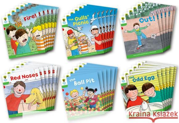 Oxford Reading Tree: Level 2: Decode and Develop: Class Pack of 36 Hunt, Roderick|||Young, Annemarie|||Miles, Liz 9780198483861