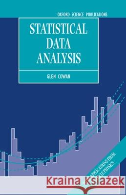 Statistical Data Analysis Glen Cowan 9780198501565