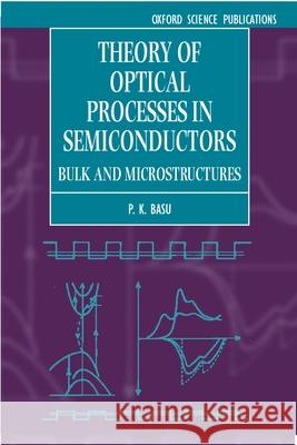 Theory of Optical Processes in Semiconductors: Bulk and Microstructures Prasanta K. Basu P. K. Basu 9780198526209