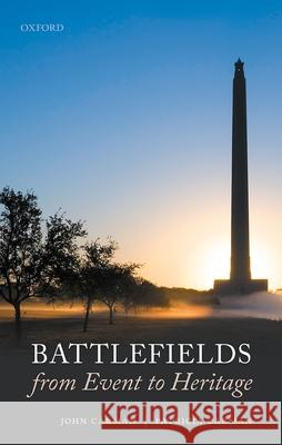Battlefields from Event to Heritage John Carman (Senior lecturer in Heritage Patricia Carman (Honorary Research Fello  9780198857464