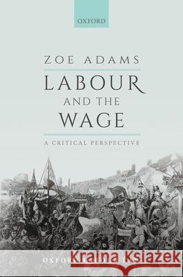 Labour and the Wage: A Critical Perspective Zoe Adams (Junior Research Fellow, King'   9780198858898