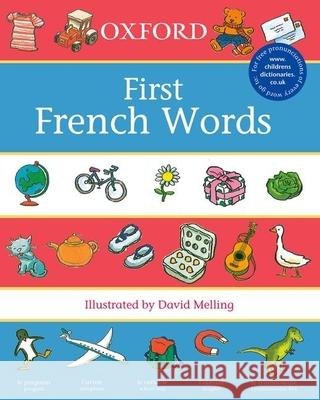 Oxford First French Words Neil Morris 9780199110025