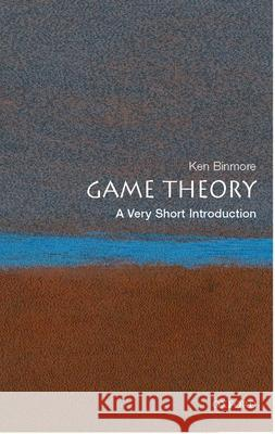 Game Theory: A Very Short Introduction  9780199218462