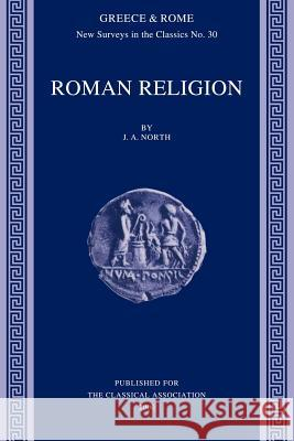 Roman Religion J. A. North 9780199224333