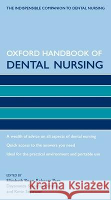 Oxford Handbook of Dental Nursing Elizabeth Boon 9780199235902