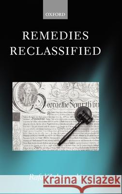 Remedies Reclassified Rafal Zakrzewski 9780199278756