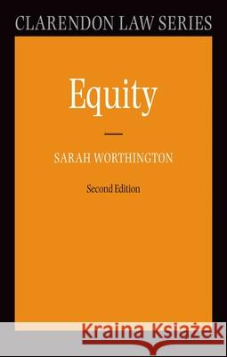 Equity Sarah Worthington 9780199290505