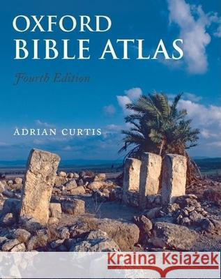Oxford Bible Atlas Adrian Curtis 9780199560462