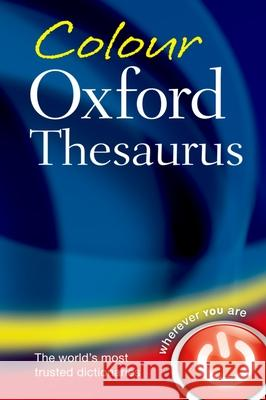 Colour Oxford Thesaurus   9780199607921