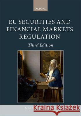 Eu Securities and Financial Ma Niamh Moloney 9780199664351
