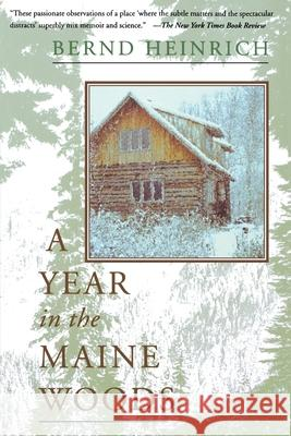 A Year in the Maine Woods Bernd Heinrich 9780201489392
