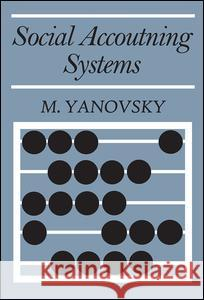 Social Accounting Systems M. Yanovsky 9780202309026