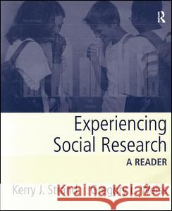 Experiencing Social Research: A Reader Kerry J. Strand Gregory L. Weiss 9780205404483